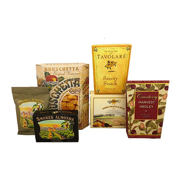 Winery Snacks & Nuts